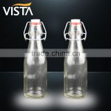 Vista brand beer bottle glass drinking bottle
