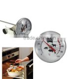 High quality Stainless Steel Pocket Probe Thermometer Gauge For BBQ Meat Food Kitchen Cooking Instant Read Meat Gauge
