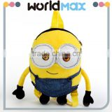 2016 Plush Despicable Me Minion Backpack