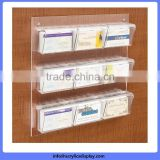 China gold supplier High-ranking cardboard acrylic brochure holder