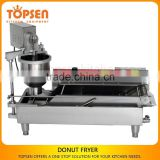 Temperature Adjusted Baked Donut Fryer Machine,High Donut Production Donut Machine Price