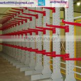 HJX dexion galvanizing heavy duty long goods pvc pipe sheet cantilever rack