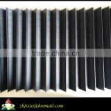 Flexible accordion type CNC machine bellow cover