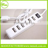 7 Port USB 2.0 hub High Speed USB Powered Hub Adapter For Desktop PC Laptop Mac Book