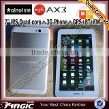 7 inch ips screen quad core ainol novo 7 ax3