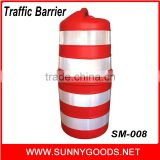 roadway safety barrier traffic plastic drums