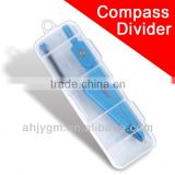 New Different Colors Compass Divider Set with PP Box for Students/compass divider math set