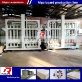 New technology mgo board making machine magnesium oxide sheet machinery different automation