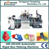 HM-ZD240 Automatic Rigid Box Making Machine for Necklace Box