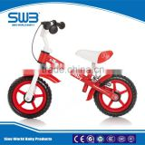 Baby ride on toy mini children balance bike kids bicycle with Steel Frame walking bike