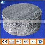 Metal wire gauze packing for stripping tower
