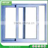 American style vertical sliding window plastic window lock soundproof window inserts