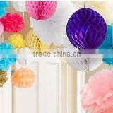 tissue paper ball lanterns