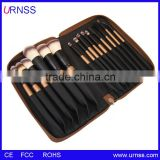 Animal Hair Professional Makeup Brush Set 32PCS Makeup Brushes Cosmetics Brushes Including a Deluxe Leather Bag