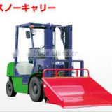 Multipurpose steel bucket for TOYOTA forklift parts made in Japan