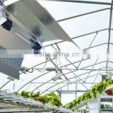 Hydroponics Garden Supplier 600w 1000w hps double ended bulb vertical focused wing type grow light cover reflector
