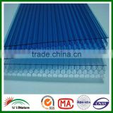 HUAXIA NATURE Guangdong polycarbonate sheet factory lexan polycarbonite honeycomb panel in China
