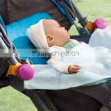 J342 Straight Stroller Clip Small Summer Sun Umbrella for Baby