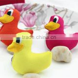 Hot sell Fabric Animal Duck DIY Sewing Decoration crafts supplies Accessorie made in China