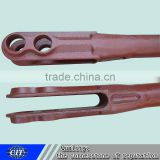 the connecting rod used in train parts carbon steel forging