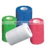 CE/FDA non woven elastic self cohesive bandage/pet cohesive adhesive bandage in low price