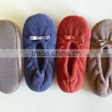 R&H new style fashion handmade baby girls wholesale hemp shoes