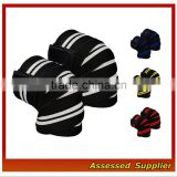 Amazon Top Weightlifting Knee Wraps Custom Powerlifting Knee Wraps MLL9001
