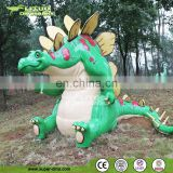 Adventure Golf Decor Cartoon Statue Dinosaur Replicas