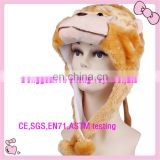 OEM Furry plush monkey hat High quality