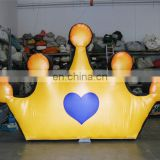 Crown Inflatable Balloon for event decoration
