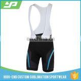 Wholesale unisex custom logo tights cycling bib shorts, triathlon shorts with sublimation printing