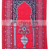 Mosque carpet prayer rug of acrylic Mosque prayer carpet , Mosque carpet orientale pakistan area rug