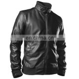 Real Natural Leather Fashion Jacket for Men