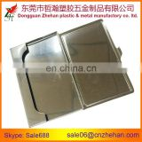 Stainless steel business card case for exhibition