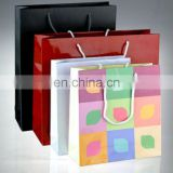 Shopping recycled paper bag , gifts bag , paper packaging for gifts