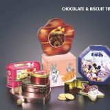 Chocolate  biscuit tin box