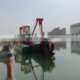 3500m3/h 18 Inch  Dredger Machine For Sand Dredging