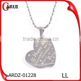 Fancy Pendant Designs For Girlfriend Heart Pendant Wholesale