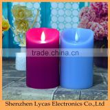 battery operated led votive candle tall