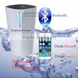 Newest Bluetooth connect with smart phone Drink record Drink remind Water temperature