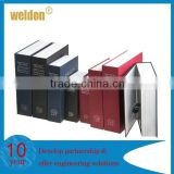 Book Style Safe Deposit Box for Home Unique English Dictionary Style Safe Book Creative Safety Box