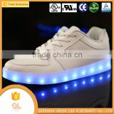 Low moq girl shoes with led light adults led shoes