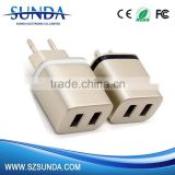 New design 2.1a usb wall charger,usb multi mobile phone charger /usb wall charger for mobile phone