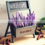 Rustic wooden garden planter rack wholesale                                                                         Quality Choice