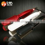 Professional 2 in 1 hair straightener flat iron and curling irons LED display 2.5 meter 360 power cord SY-891