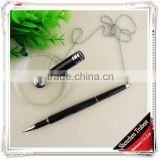 cheap table pen with chain , black stand pen for office