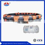 Marine 15 person inflatable life raft