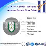 GYDXTW fiber optical cable Central Tube Non-Self-supporting Aerial / Duct Optical Fiber Cable