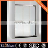 Italy Pivot tempered glass panel China brand design European style SGCC Straight shower bath