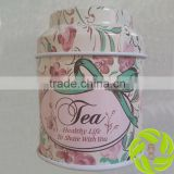 Tea can package 30g package green tea black tea Chinese tea tin gift package promotion tea